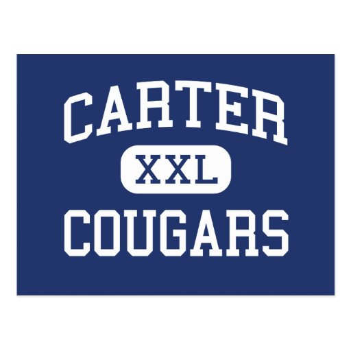 Carter - Cougars - Junior - Arlington Texas Post Cards