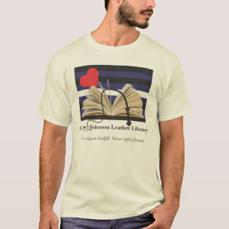 Carter/Johnson Leather Library  T-Shirt