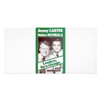Carter - Mondale Customized Photo Card