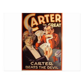 Carter the Great Postcard