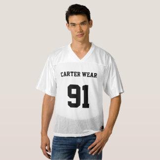 Carter Wear - Football Jersey - White