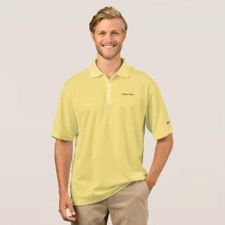 Carter Wear - Nike Dri-FIT Polo Shirt - Cornsilk