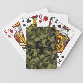 Cartes À Jouer Motif militaire de style de camouflage