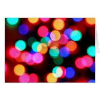 Cartes brouillées de lumières
