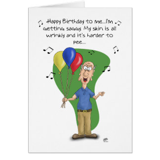 Cartes d'anniversaire drôles : Mélodie d'anniversa