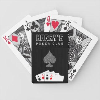 Cartes de Bicycle® de club de tisonnier de casino Jeu De Cartes Poker