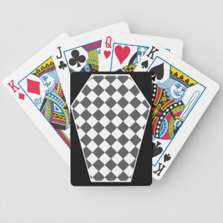 Cartes de jeu enes ivoire de Damier (fumée) Cartes Bicycle Poker