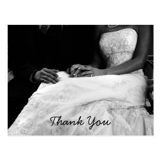 Cartes de Merci de mariage Carte Postale