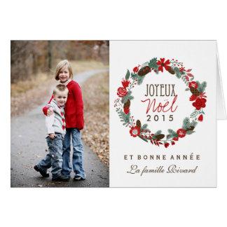 Cartes de Noël de Photo Greeting Card