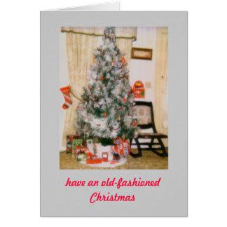 Cartes de Noël démodées