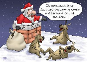 Carte De Noel Droles.Cartes Drôles Pour Noël Zazzle Ca
