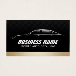Cartes De Visite Automobile détaillant la voiture moderne des