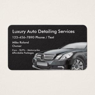 Cartes De Visite Businesscards détaillant automatique