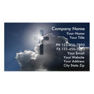 Cartes de visite chrétiens modèles de cartes de visite