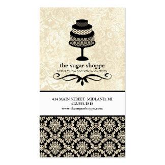 Cartes de visite contemporains de boulangerie carte de visite standard