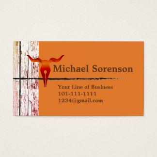 Cartes De Visite Customisez les deux côtés de bois, de pierre et de