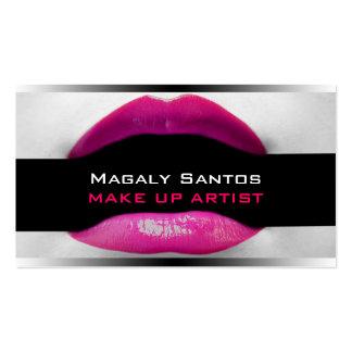 Cartes de visite d artiste de maquillage cartes de visite personnelles