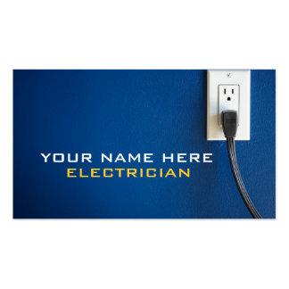 Cartes de visite d électricien cartes de visite personnelles