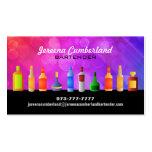Cartes de visite d'alcool cartes de visite professionnelles