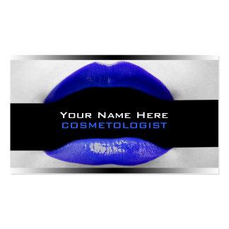 Cartes de visite d'artiste de maquillage carte de visite standard