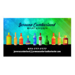 Cartes de visite de barre carte de visite