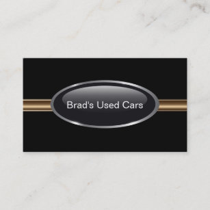 Cartes De Visite Concessionnaire Automobile