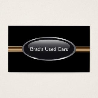 Cartes de visite de concessionnaire automobile