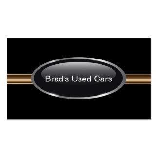 Cartes de visite de concessionnaire automobile carte de visite standard