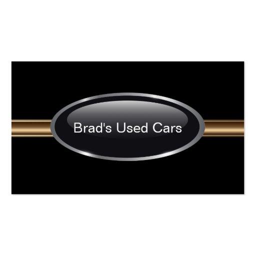Cartes de visite de concessionnaire automobile carte de visite