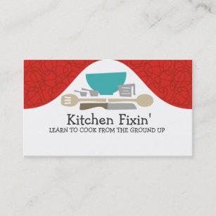 Cartes De Visite Cours Cuisine Dustensiles