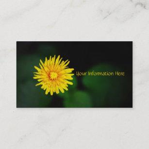 Cartes De Visite Fleur Pissenlit