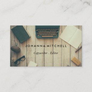Cartes De Visite Journal Typwriter