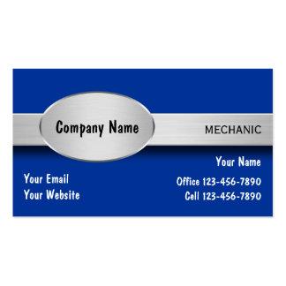 Cartes de visite de mécanicien automobile carte de visite standard