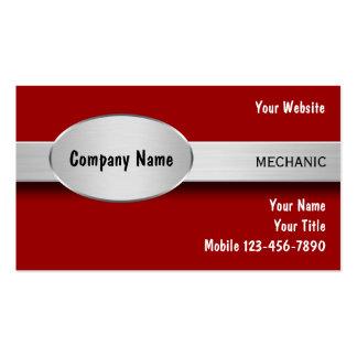 Cartes de visite de mécanicien automobile carte de visite