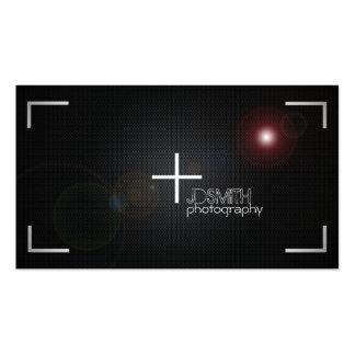 Cartes de visite de photographie carte de visite standard
