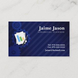 Cartes De Visite Planificateur Financier