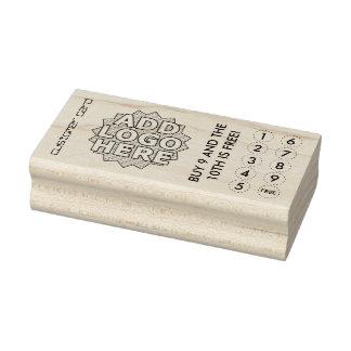 cartes de visite de timbre coupés par coutume
