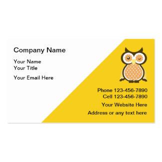 Cartes de visite de tuteur de professeur cartes de visite professionnelles