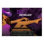Cartes de visite du DJ Carte De Visite