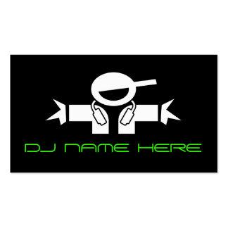 Cartes de visite du DJ Carte De Visite Standard