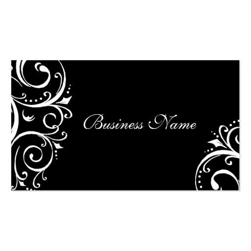 Cartes de visite élégants cartes de visite personnelles