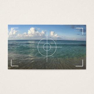 Cartes De Visite Photographie de plage