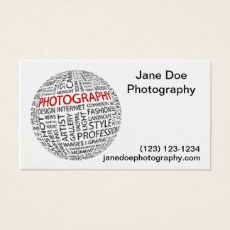 Cartes De Visite Photographie globale