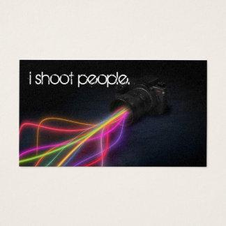 Cartes De Visite Photographie légère lumineuse