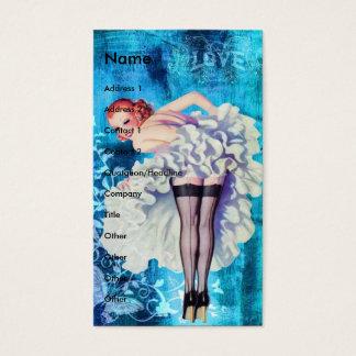 Cartes De Visite Pin-up d'amour