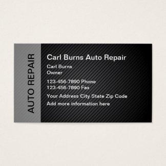 Cartes De Visite Réparation automatique moderne