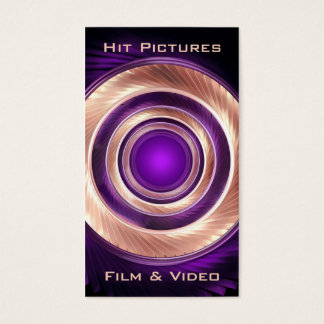 Cartes De Visite S'élever autour du photographe Videographer de