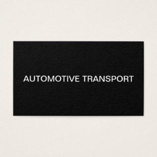 Cartes De Visite Services de transport des véhicules à moteur