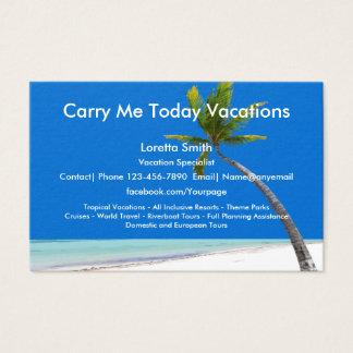 Cartes De Visite Spécialiste en vacances de voyage