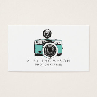 Cartes de visite vintages de photographe